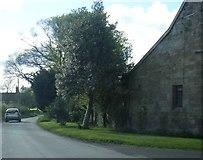 SJ4118 : Lane at Adcote School Lodge by Colin Pyle