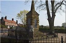 TF6830 : Dersingham War Memorial by N Chadwick