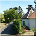 SK2825 : Beehive Cottage, Church Lane, Newton Solney by Alan Murray-Rust