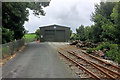 S5110 : Waterford and Suir Valley Railway, Maintenance and Storage Shed at Kilmeadan by David Dixon