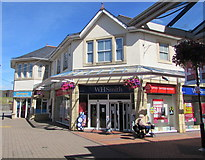 ST1587 : WH Smith, Castle Court Shopping Centre, Caerphilly by Jaggery