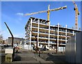 SJ8598 : More apartments rising up by Gerald England