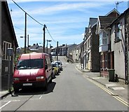ST1599 : South along Church Place, Bargoed by Jaggery