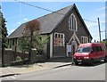 ST1599 : Early 20th century church hall, Church Place, Bargoed by Jaggery