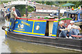 SP5365 : 'Cassiopeia' at Braunston Historic Narrowboat Rally by Stephen McKay