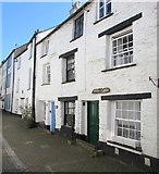 SX2553 : Tiree 'n' Tyrina, Lower Chapel Street, East Looe by Jaggery