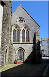 SX2553 : West side of the former St Mary's Church, East Looe by Jaggery