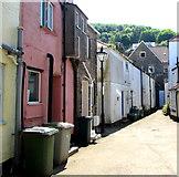 SX2553 : Western end of Church Street, East Looe by Jaggery