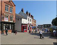 SK4641 : Ilkeston: in the Market Place by John Sutton