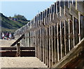 TG5301 : Sea defences on the beach at the Gorleston Cliffs : Week 26