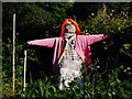 NS5667 : Scarecrow, Botanic Gardens by Richard Sutcliffe
