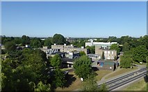 SE6250 : University Road and Derwent College from above by DS Pugh