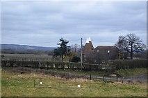 TQ6245 : Lilley Farm Oast by N Chadwick