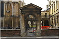 TL4457 : Gateway into Peterhouse, Cambridge by Christopher Hilton