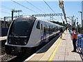 TQ2081 : TfL Rail train at Acton Main Line Station by David Hawgood