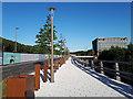 SE2436 : Kirkstall Forge development - riverside walkway by Stephen Craven