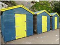 TR3968 : Beach huts at Stone Bay, Broadstairs : Week 27