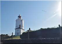 TR3969 : North Foreland Lighthouse by David Howard