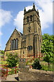 SE0624 : St John's Church from Windle Royd Lane by Roger Templeman