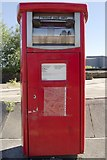 SE3320 : Franked mail postbox, Calder Vale Road by Mark Anderson