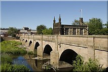 SE3320 : Wakefield Bridge and Chantry Chapel by Mark Anderson