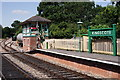 TQ3635 : Kingscote Railway Station by Peter Trimming