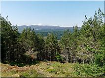 NH6878 : Outlook from ridge of Cnoc an t-Sabhail by Julian Paren