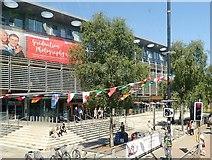 J3372 : Mandela Hall, University Road, Belfast by Eric Jones