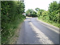 SJ8519 : Coming into Allimore Green from the south by Richard Law