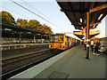 SE3220 : Wakefield Westgate station - local train to Leeds by Stephen Craven