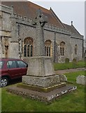TG4919 : War memorial in the grounds of Holy Trinity & All Saints church, Winterton by Helen Steed