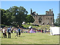 NT0077 : Linlithgow Palace from the Peel by M J Richardson