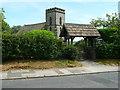 SE2749 : The lych gate, Church Hill, North Rigton by Humphrey Bolton