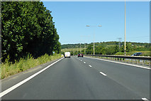TR0863 : A299 Thanet Way towards Thanet by Robin Webster