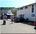 SX2553 : Harbour Cafe, The Quay, East Looe  by Jaggery