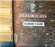 SE3320 : Latino Quarter / Albion Court by Gerald England