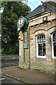 NU1912 : Former station clock, Alnwick by Jim Osley