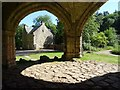 SK5489 : Abbey House viewed from the Gatehouse by Philip Halling
