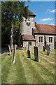 TQ4464 : Tower, Church of St Giles the Abbot, Farnborough by Jim Osley