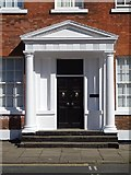 SE3221 : Door and portico, St John's North by Philip Halling