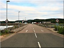 NR8262 : Causeway to the Kennacraig Ferry Terminal by G Laird
