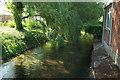 SU1330 : Watercourse, Salisbury by Derek Harper