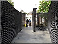 TQ2679 : Serpentine Gallery Pavilion 2018, side courtyard by David Hawgood