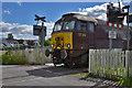 SD5095 : The Lakelander at Burneside north level crossing by Nigel Brown