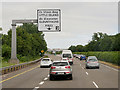 W7572 : Eastbound N25 at Junction 2 by David Dixon