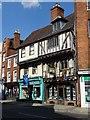 SO8932 : Timber-framed buildings on Tewkesbury High Street by Philip Halling