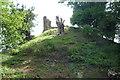 SO3240 : Snodhill Castle (Motte) by Fabian Musto