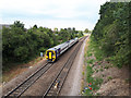 SE3434 : Selby train passing Halton by Stephen Craven