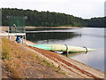 SE3041 : Eccup reservoir - syphon drawoff pipe by Stephen Craven