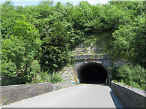SK1273 : Monsal Trail: western portal of Chee Tor No. 1 Tunnel by Gareth James